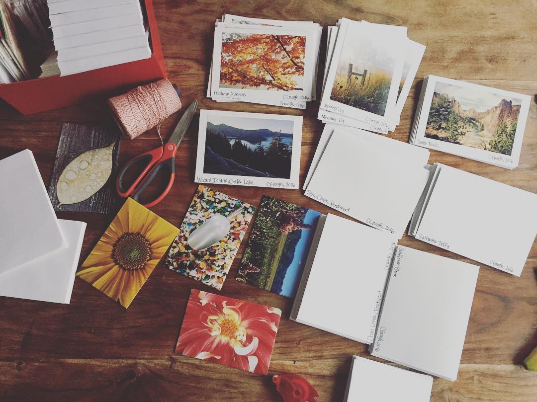 December Photo Project 2016::Saturday, December 17th::Photo Card Assembling!
