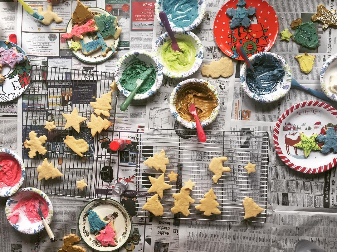 Cookie Decorating Time